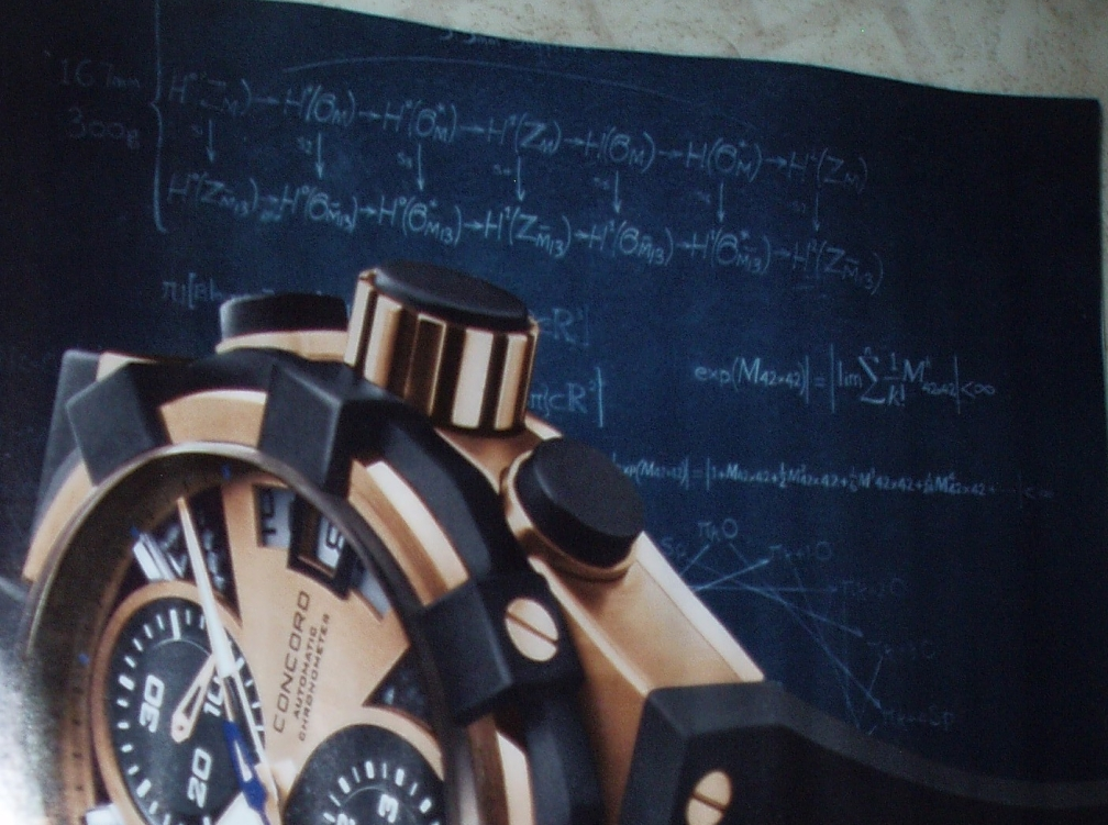 A watch ad from the Economist 2008-06-28